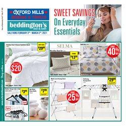 Beddington's catalogue ( Expires tomorrow )