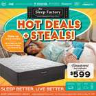Home & Furniture offers in the The Sleep Factory catalogue ( Published today )