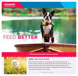 Petsmart deals in the Edmonton flyer