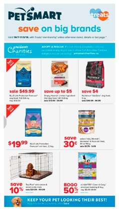 Petsmart deals in the Vancouver flyer