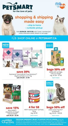 Grocery offers in the Petsmart catalogue in Prince George ( 3 days left )