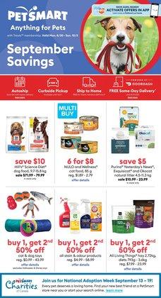 Petsmart deals in the Petsmart catalogue ( 5 days left)