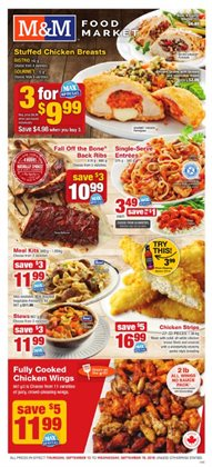 M&M Meat Shops deals in the Prince George flyer