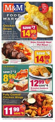 M&M Meat Shops deals in the Toronto flyer