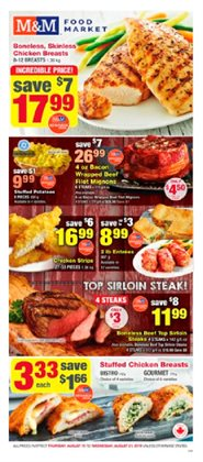 M&M Meat Shops deals in the Montreal flyer