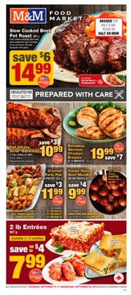 M&M Meat Shops deals in the Vancouver flyer