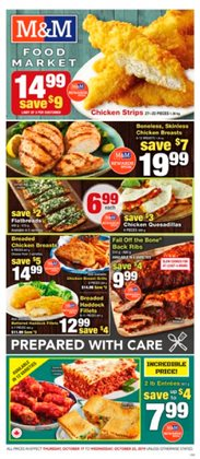 Grocery offers in the M&M Meat Shops catalogue in Chilliwack