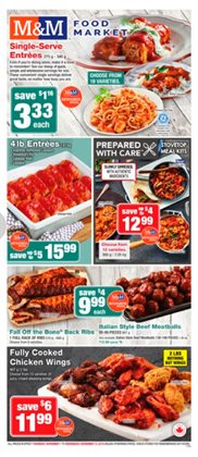 M&M Meat Shops deals in the Saint-Hyacinthe flyer