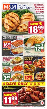 M&M Meat Shops catalogue ( 1 day ago )