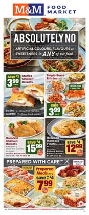 M&M Meat Shops catalogue in Calgary ( Expires today )