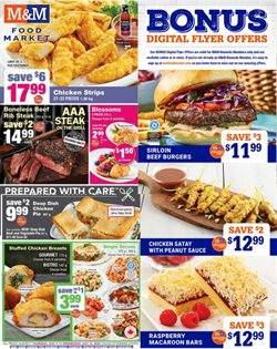 M&M Meat Shops catalogue in Milton ( Expires today )