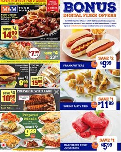 M&M Meat Shops catalogue in Montreal ( 6 days left )