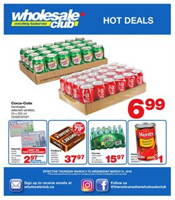 Wholesale Club deals in the Halifax flyer