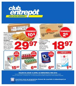Wholesale Club deals in the Montreal flyer
