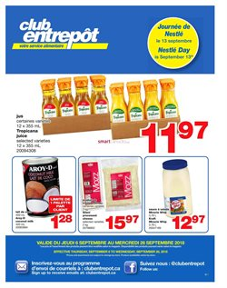Wholesale Club deals in the Quebec flyer