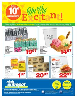 Grocery offers in the Wholesale Club catalogue in Montreal