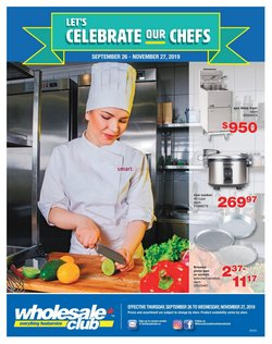 Wholesale Club deals in the Toronto flyer