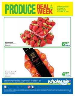 Wholesale Club deals in the Saskatoon flyer