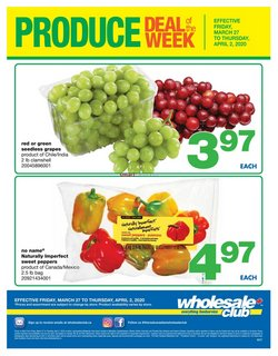 Wholesale Club catalogue in Vancouver ( Expires tomorrow )