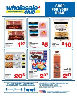 Wholesale Club catalogue in Calgary ( Expires today )