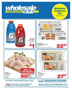 Wholesale Club catalogue in Toronto ( 8 days left )