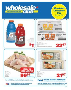 Wholesale Club catalogue ( 8 days left )