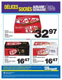 Wholesale Club catalogue in Montreal ( Expires tomorrow )