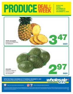 Wholesale Club catalogue ( Expired )