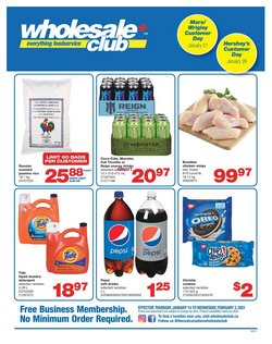 Wholesale Club catalogue ( 9 days left )