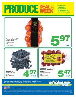 Wholesale Club catalogue ( 2 days left )