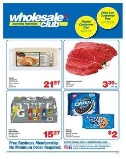 Wholesale Club catalogue ( 12 days left )