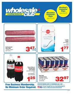 Wholesale Club deals in the Wholesale Club catalogue ( 21 days left)