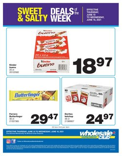 Wholesale Club deals in the Wholesale Club catalogue ( Expires today)