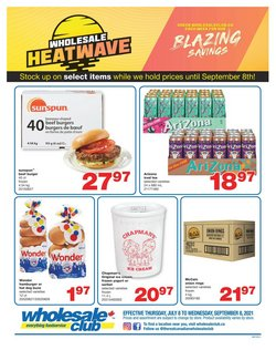 Wholesale Club catalogue ( More than a month)