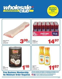 Wholesale Club catalogue ( 5 days left)