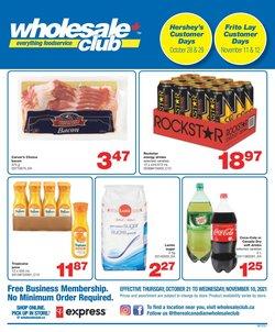 Wholesale Club deals in the Wholesale Club catalogue ( 16 days left)