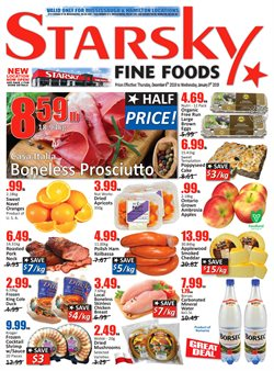 Starsky deals in the Mississauga flyer
