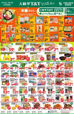 T&T Supermarket deals in the North York flyer