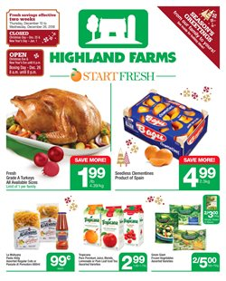 Highland Farms deals in the Scarborough flyer