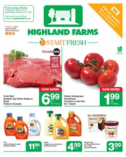 Highland Farms catalogue ( Expired )