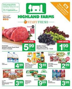 Highland Farms deals in the Highland Farms catalogue ( Expires tomorrow)