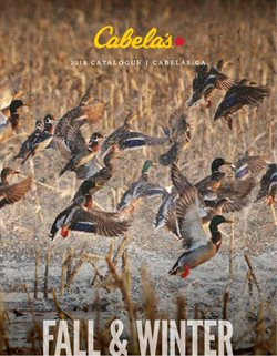 Sport offers in the Cabela's catalogue in Regina