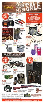 Cabela's catalogue ( 2 days left )