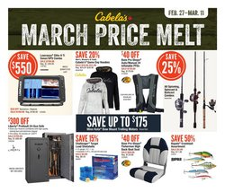 Sport offers in the Cabela's catalogue in Winnipeg ( 2 days ago )