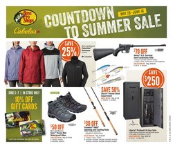Sport offers in the Cabela's catalogue in Edmonton ( 6 days left )