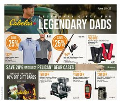 Sport deals in the Cabela's catalogue ( Expires today)