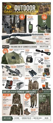 Sport deals in the Cabela's catalogue ( 1 day ago)