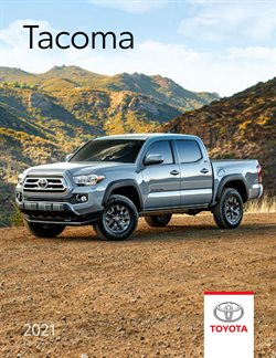 Automotive offers in the Toyota catalogue in Toronto ( More than a month )