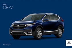 Automotive deals in the Honda catalogue ( More than a month)
