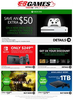 Electronics & Appliances offers in the EB Games catalogue in London